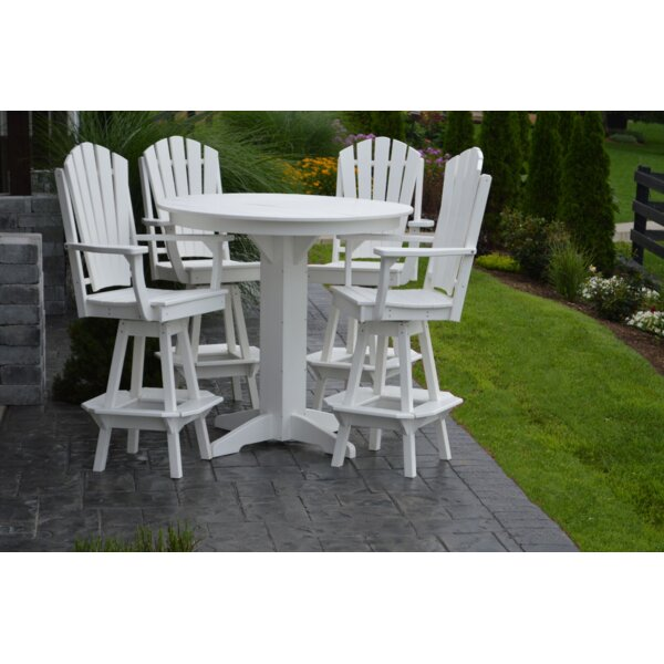 Nettie 5 Piece Bar Height Dining Set By Red Barrel Studio®