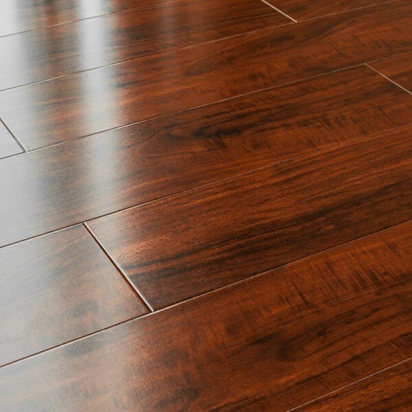 5 x 48 x 12mm Pine Laminate Flooring in Mahogany by Kronoswiss
