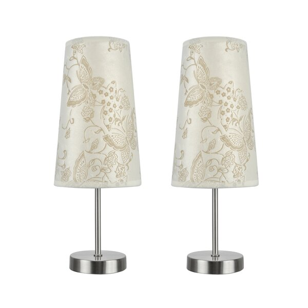 Lamont Contemporary Candlestick Table Lamp (Set of 2) by Harriet Bee