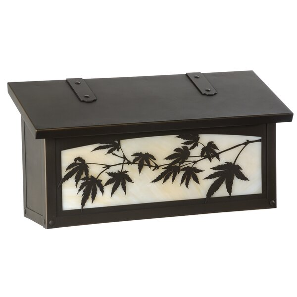 Japanese Maple Wall Mounted Mailbox by America's Finest Lighting Company