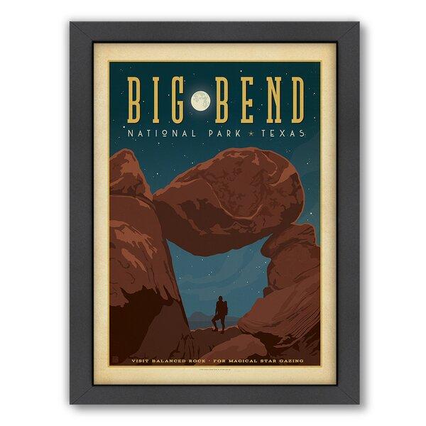 National Park Big Bend Framed Vintage Advertisement by East Urban Home