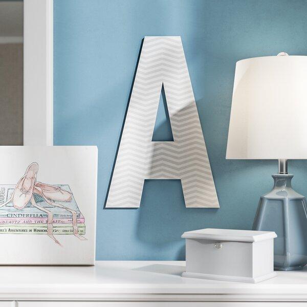 Arlot Chevron Oversized Hanging Initials by Viv + Rae