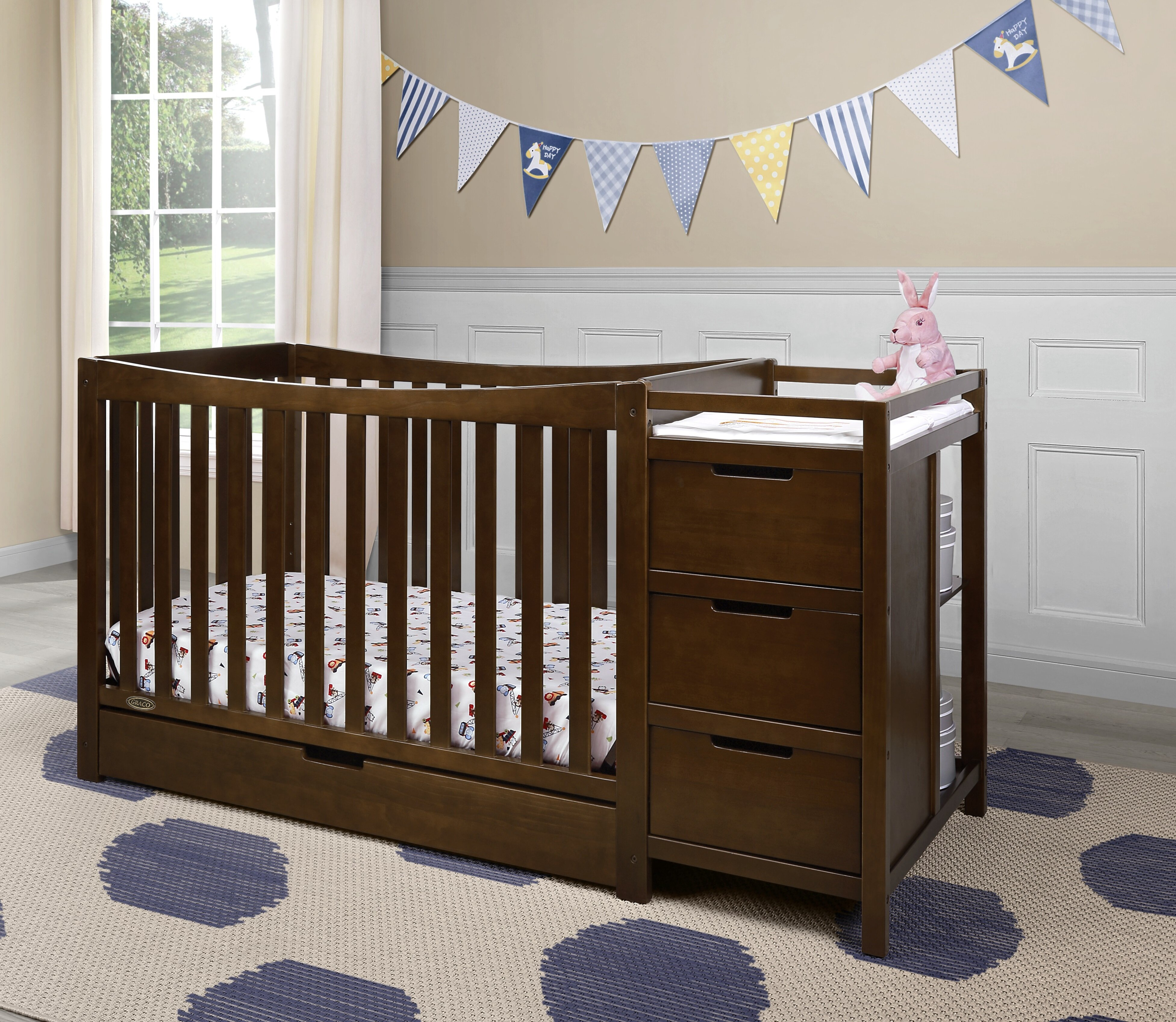 grey canada product signature cribs ca convertible baby lauren in buy pebble best en crib graco