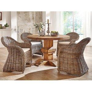 Essgruppe Aro mit 4 Stühlen von Massivum
