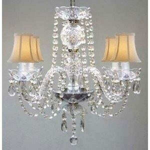 Atchley 4-Light Shaded Classic / Traditional Chandelier by Astoria Grand Astoria Grand