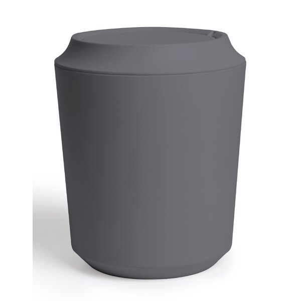 Corsa 2 Gallon Swing Top Waste Basket by Umbra