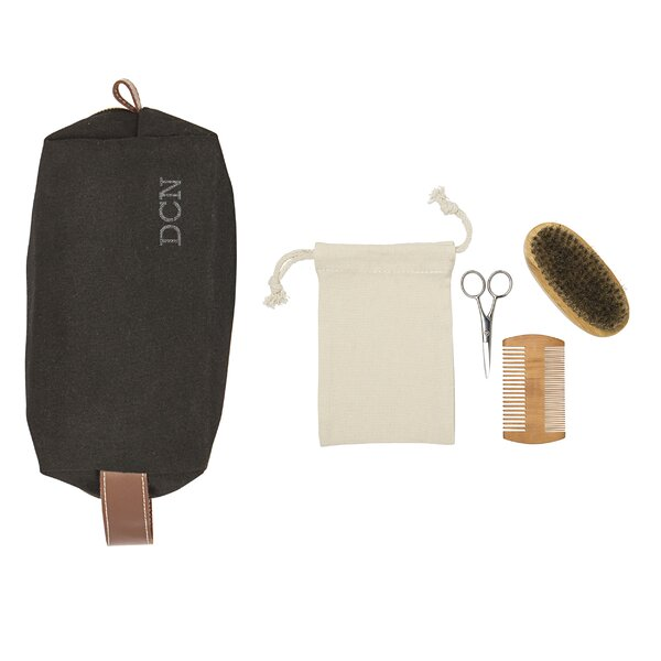 Roswell Waxed Canvas 5 Piece Bathroom Accessory Set by Williston Forge