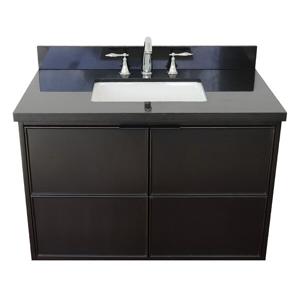 Eldorado 37 Wall-Mounted Single Bathroom Vanity Set by Gracie Oaks