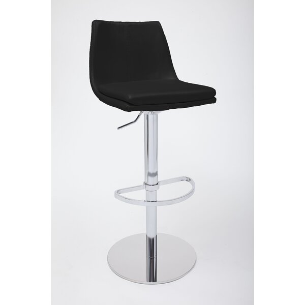 Monte Carlo Adjustable Height Swivel Bar Stool by Bellini Modern Living