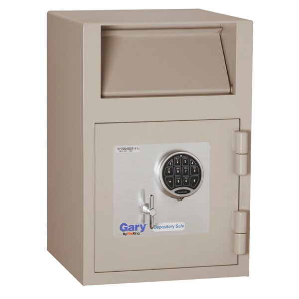 Gary Front Loading Depository Safe with Electronic Lock by FireKing