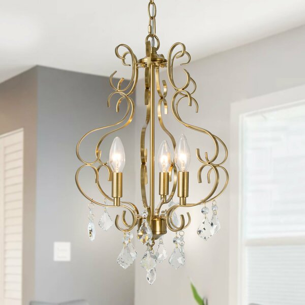 Georgine 3 - Light Candle Style Empire Chandelier By Rosdorf Park
