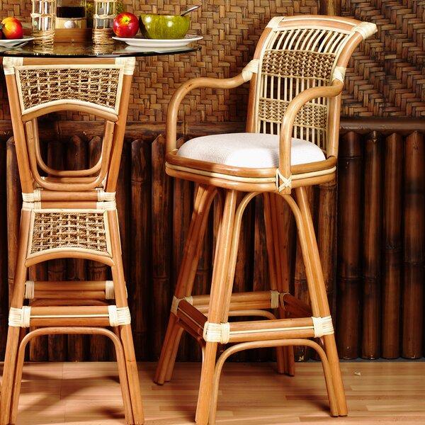 Spice Islands 30 Swivel Bar Stool (Set of 2) by Spice Islands Wicker
