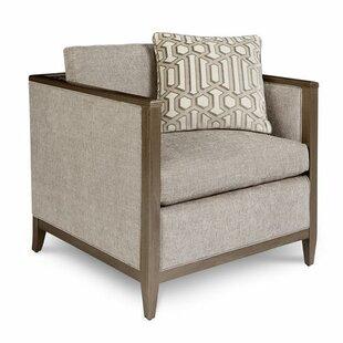 Alvina Brass Armchair by Gracie Oaks