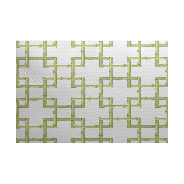 Connelly Green Indoor/Outdoor Area Rug by Bay Isle Home