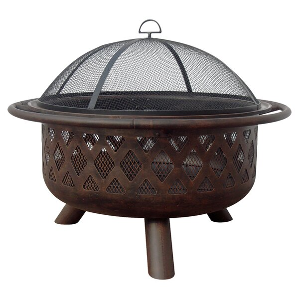 Lyle Steel Fire Pit by Uniflame Corporation