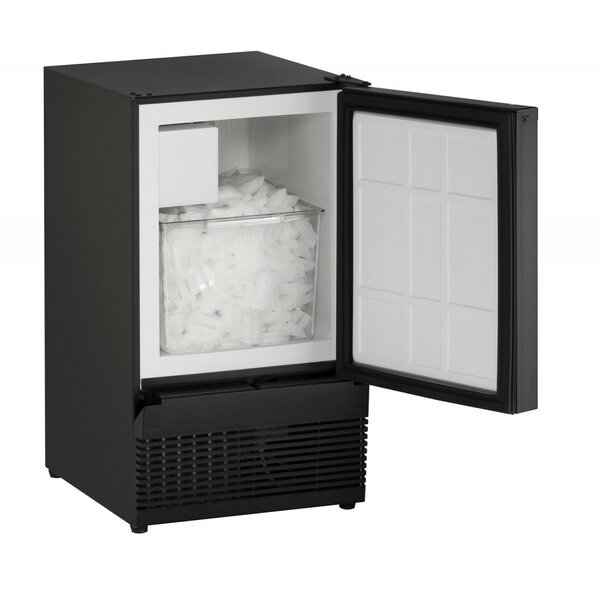Reversible 15 25 lb. Daily Production Built-in Ice Maker by U-Line