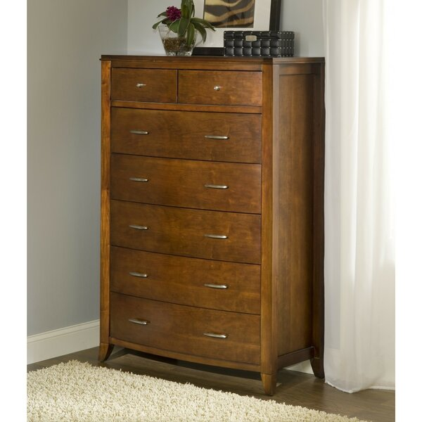 Rosenberg Wooden 7 Drawers Chest by Canora Grey