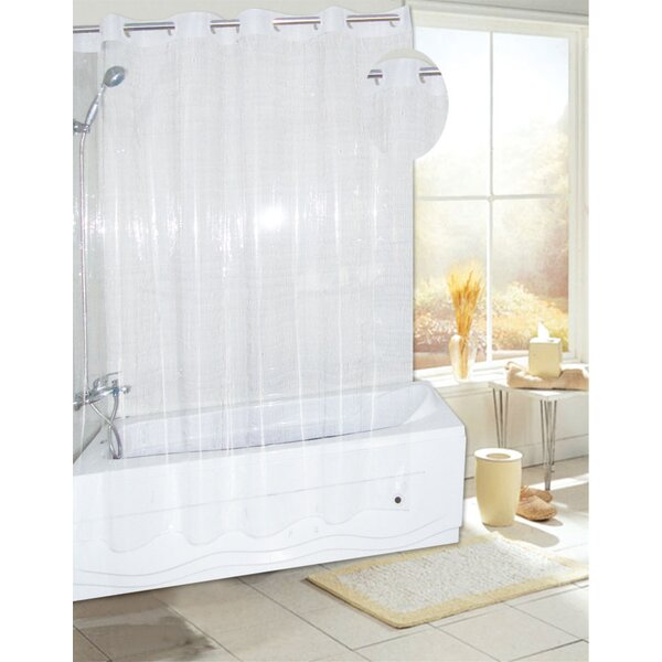 EZ-ON® PEVA Shower Curtain by Ben and Jonah