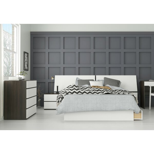 Laymon Platform 4 Piece Bedroom Set by Ebern Designs Ebern Designs