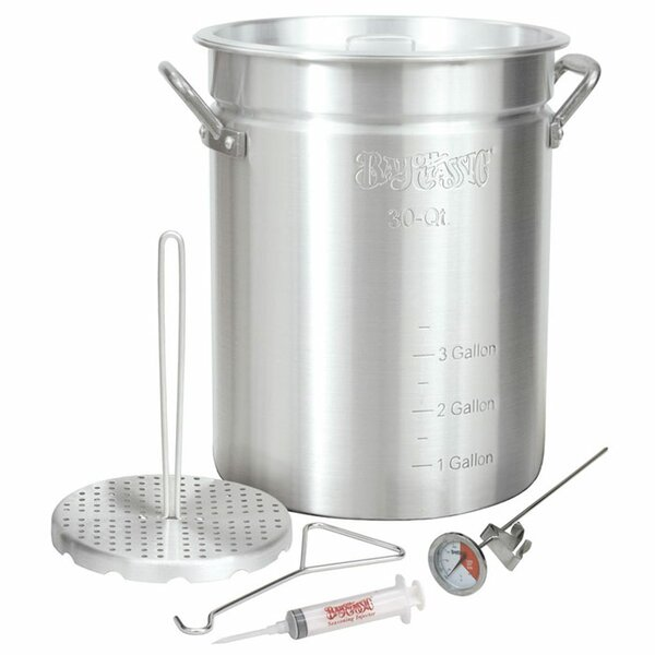 Aluminum 30 Quart Turkey Fryer by Bayou Classic