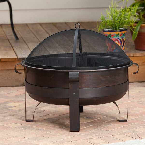 Cornell Steel Wood Burning Fire Pit by Fire Sense