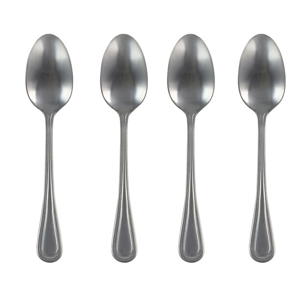 Arturo Teaspoon Set (Set of 4) by Charlton Home