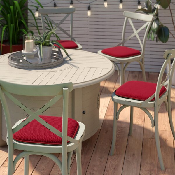 Indoor/Outdoor Dining Chair Cushion (Set of 4)