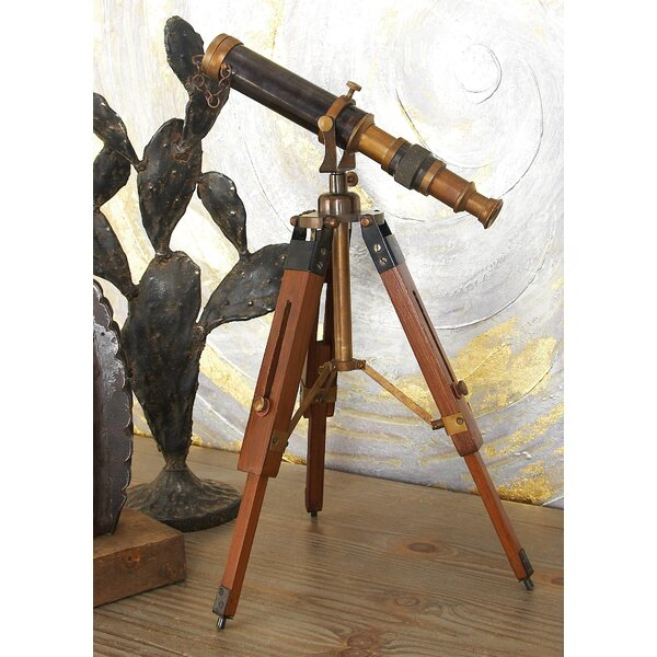 Onondaga Decorative Artistic Telescope by Breakwater Bay
