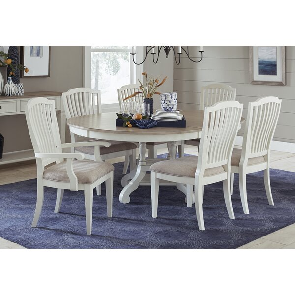 Fairfax 7 Piece Extendable Dining Set by Ophelia & Co.