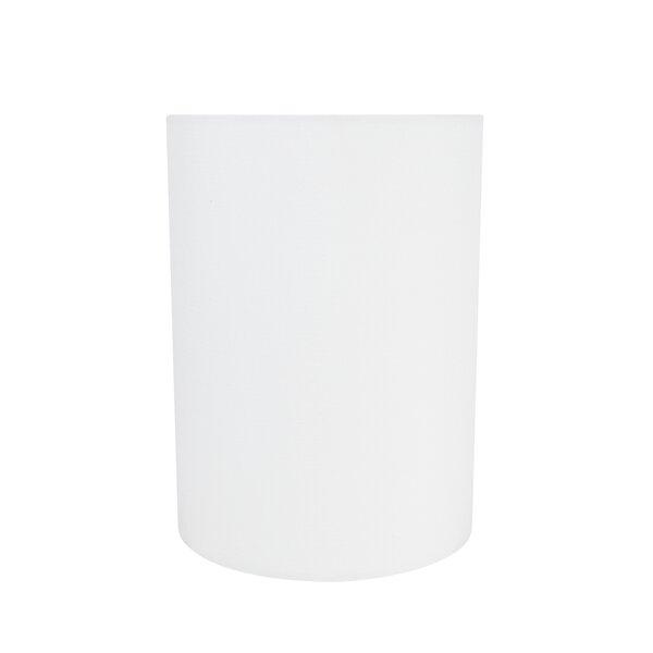 11 H Linen Drum Lamp Shade ( Spider ) in Off-White