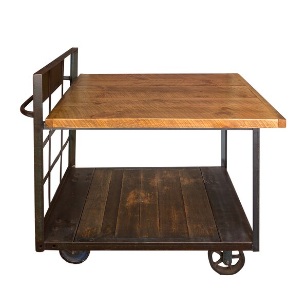 Jambusaria Vintage Factory Dining Table by 17 Stories
