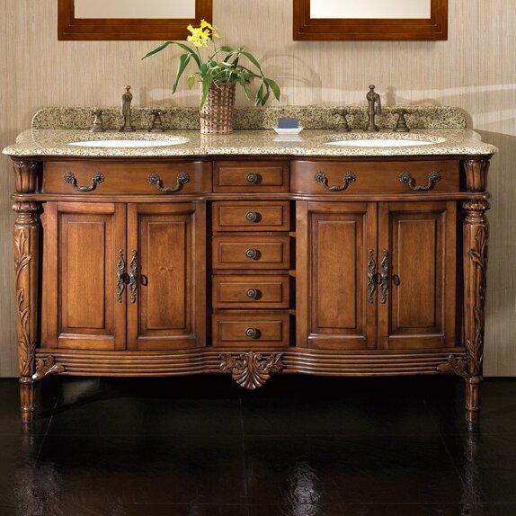 Karen 60 Double Bathroom Vanity Set by Ove Decors