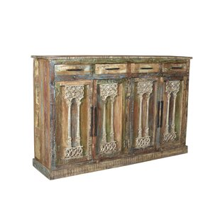 Online Reviews Petrone Reclaimed Wood Sideboard By Bloomsbury Market
