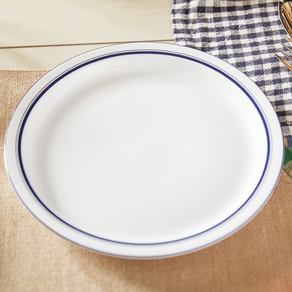 Christianshavn Blue 10.25 Dinner Plate by Dansk