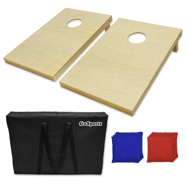 Tailgate Solid Wood Corn Hole Set by GoSports