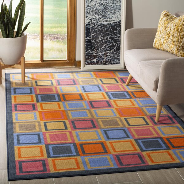 Metropolis Blue/Multi Rug by Safavieh