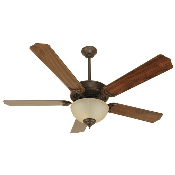 52 Palatine 5-Blade Ceiling Fan by Charlton Home