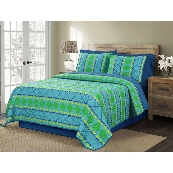 Trenza Reversible Quilt Set by Vita Good Life