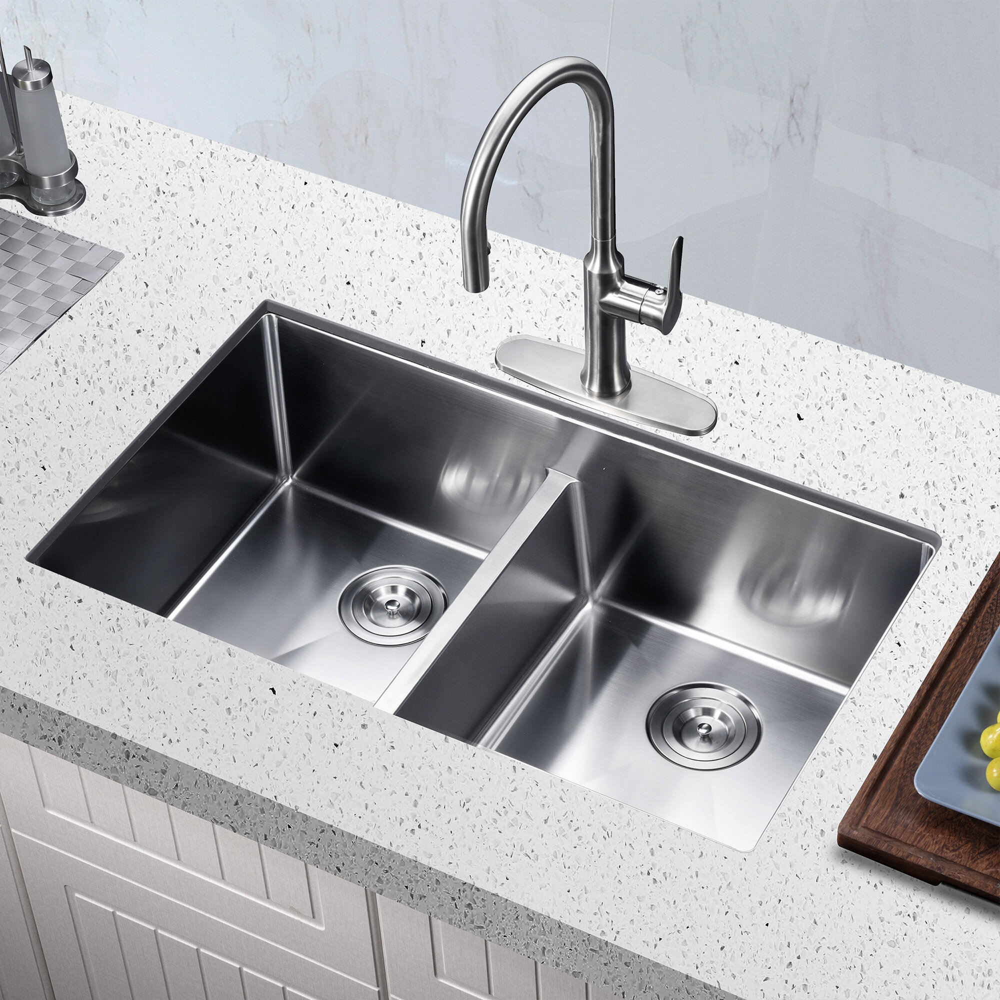 Koozzo Low Divide Stainless Steel 32 X