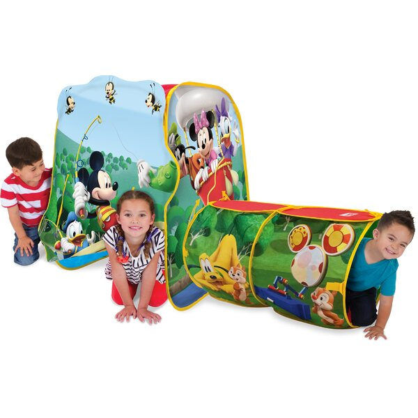 Discovery Hut Mickey Pop-Up Play Tent by Playhut