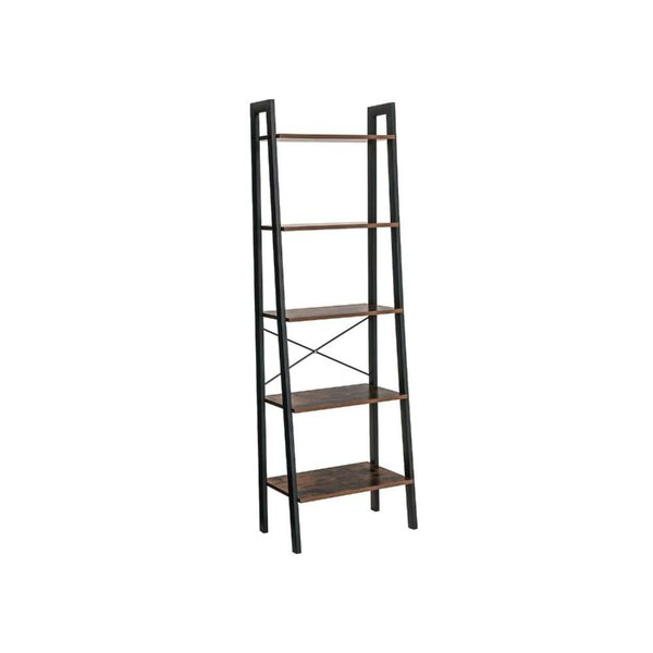 Wallace Five Tiered Ladder Bookcase By Williston Forge