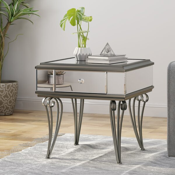 Callis End Table With Storage By House Of Hampton