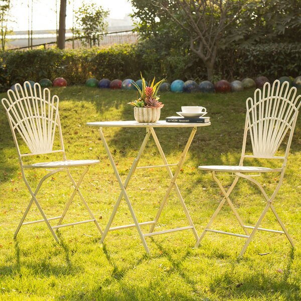 Folding Patio Dining Chair (Set of 2) by Glitzhome