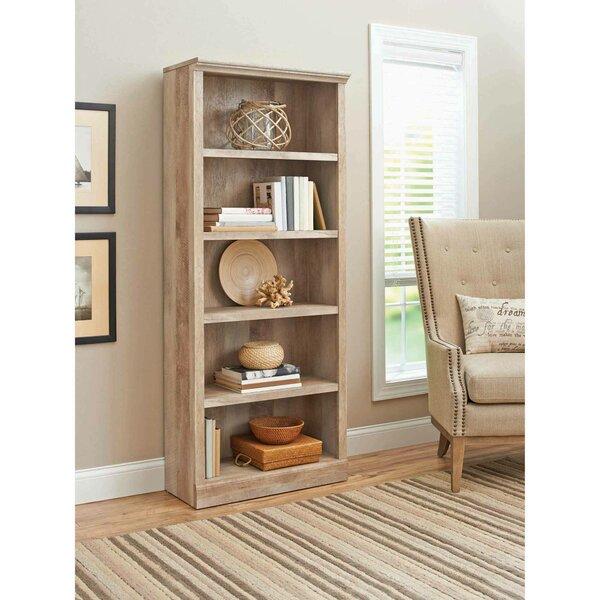 Pretor 5-Shelf Standard Bookcase By Foundry Select