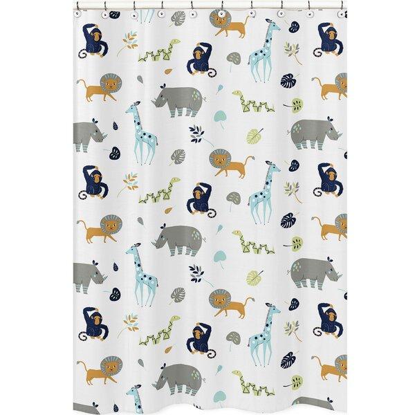 Mod Jungle Shower Curtain by Sweet Jojo Designs