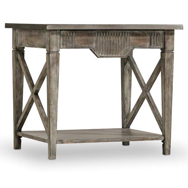 True Vintage End Table By Hooker Furniture