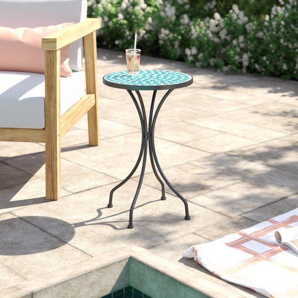 Brionna Metal Side Table by Bay Isle Home