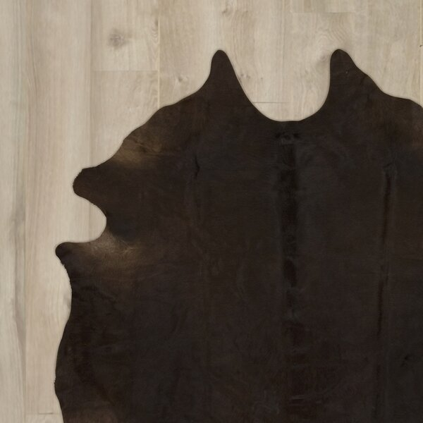 Agate Handmade Dark Brown Area Rug by Trent Austin Design