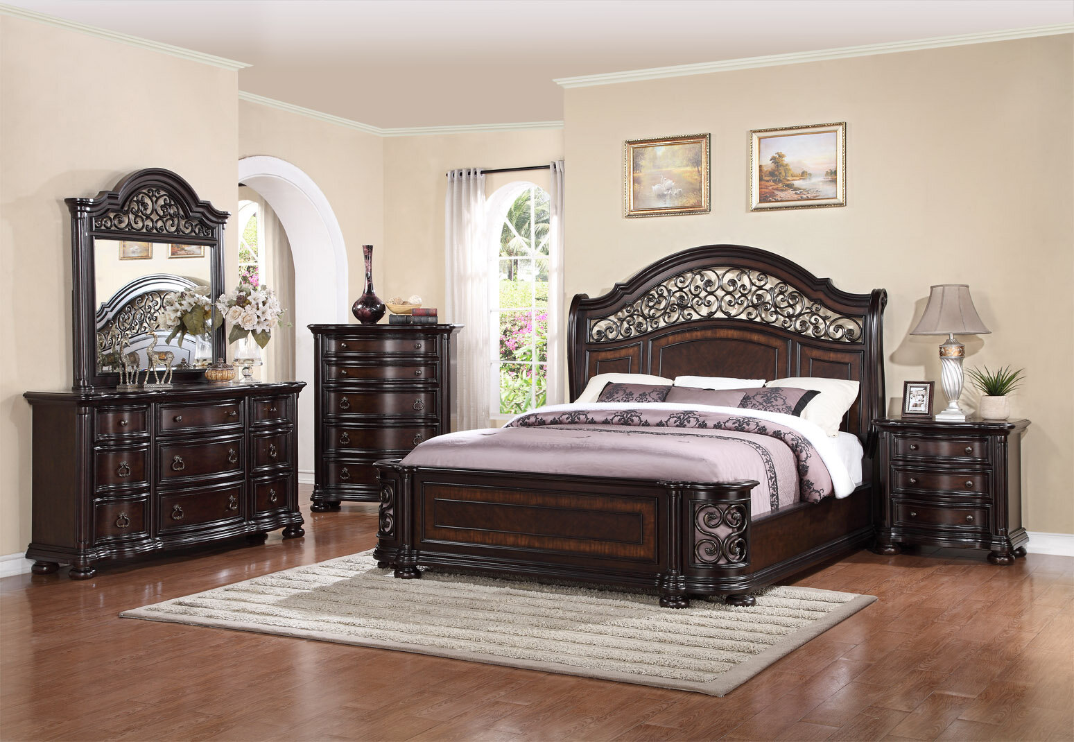 Milton Queen 4 Piece Bedroom Set