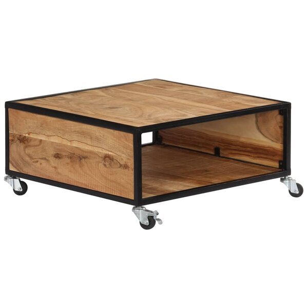 Raye Wheel Coffee Table With Storage By Millwood Pines